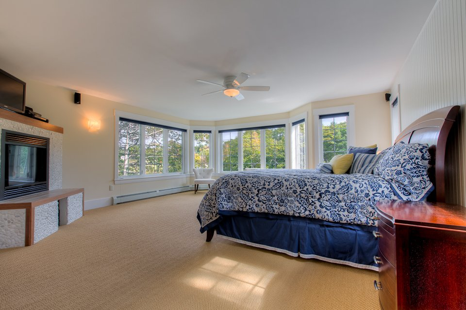 Captains Quarters Suite.  See much more at www.luxurykennebunkporthouserental.com