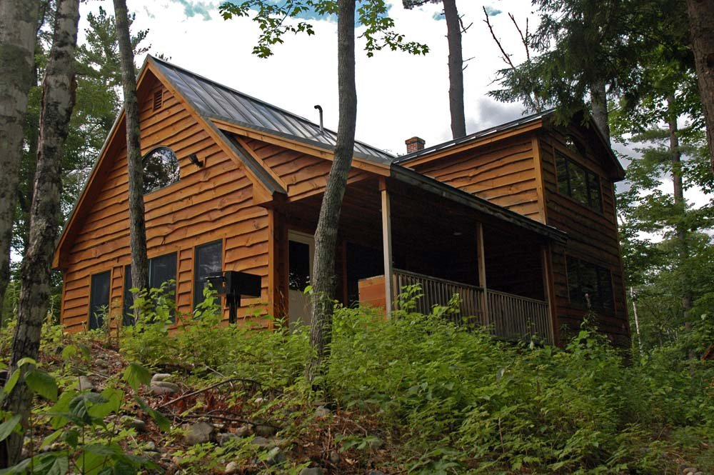 Saddleback Cabin on the hill - luxury private cabins are available only at Northern Outdoors in The Forks!