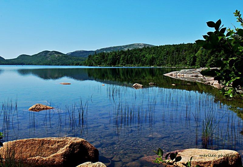 Sunny day at Eagle Lake.