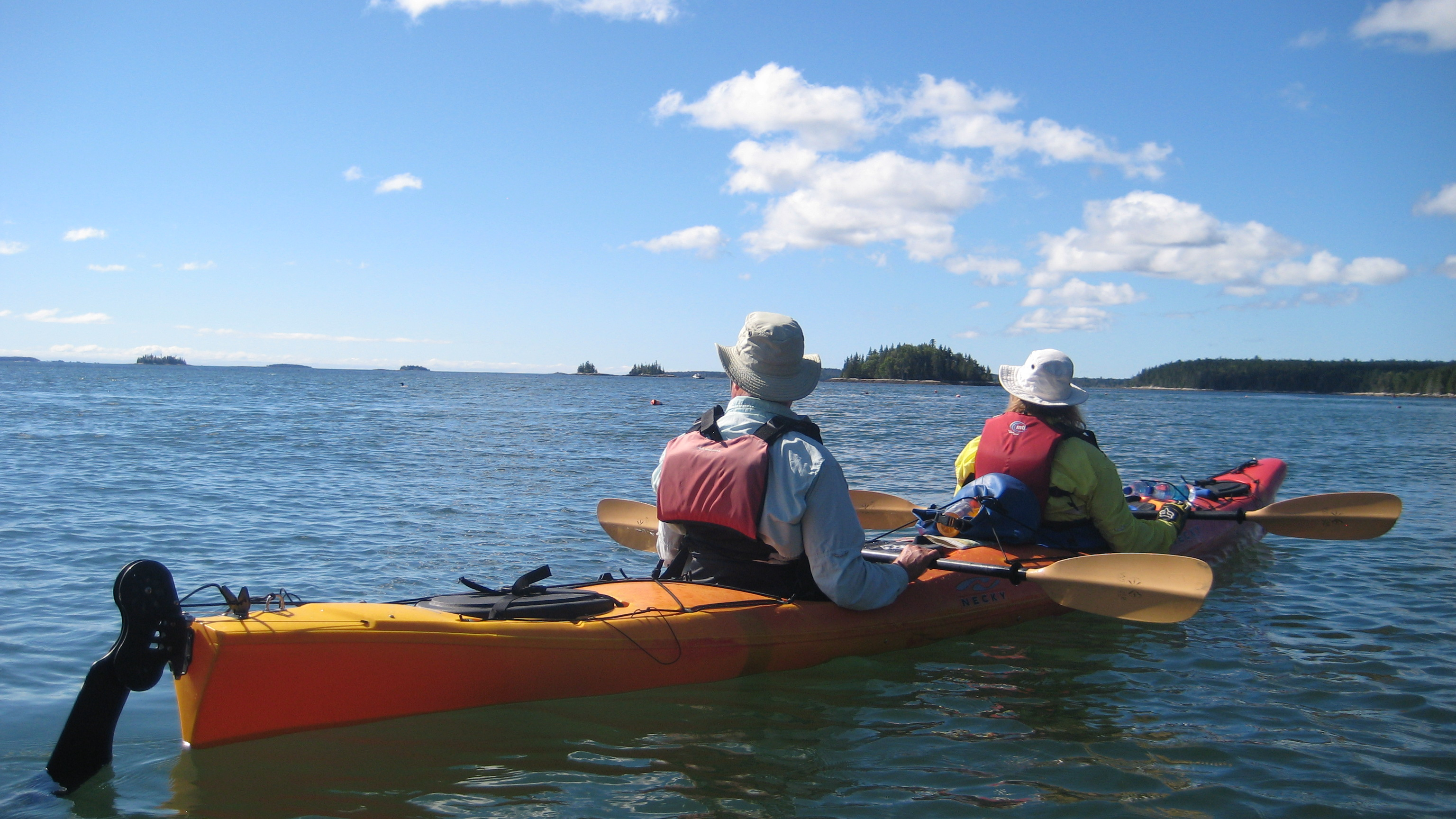 Sea Kayaking Half Day Trips Maine Kayak