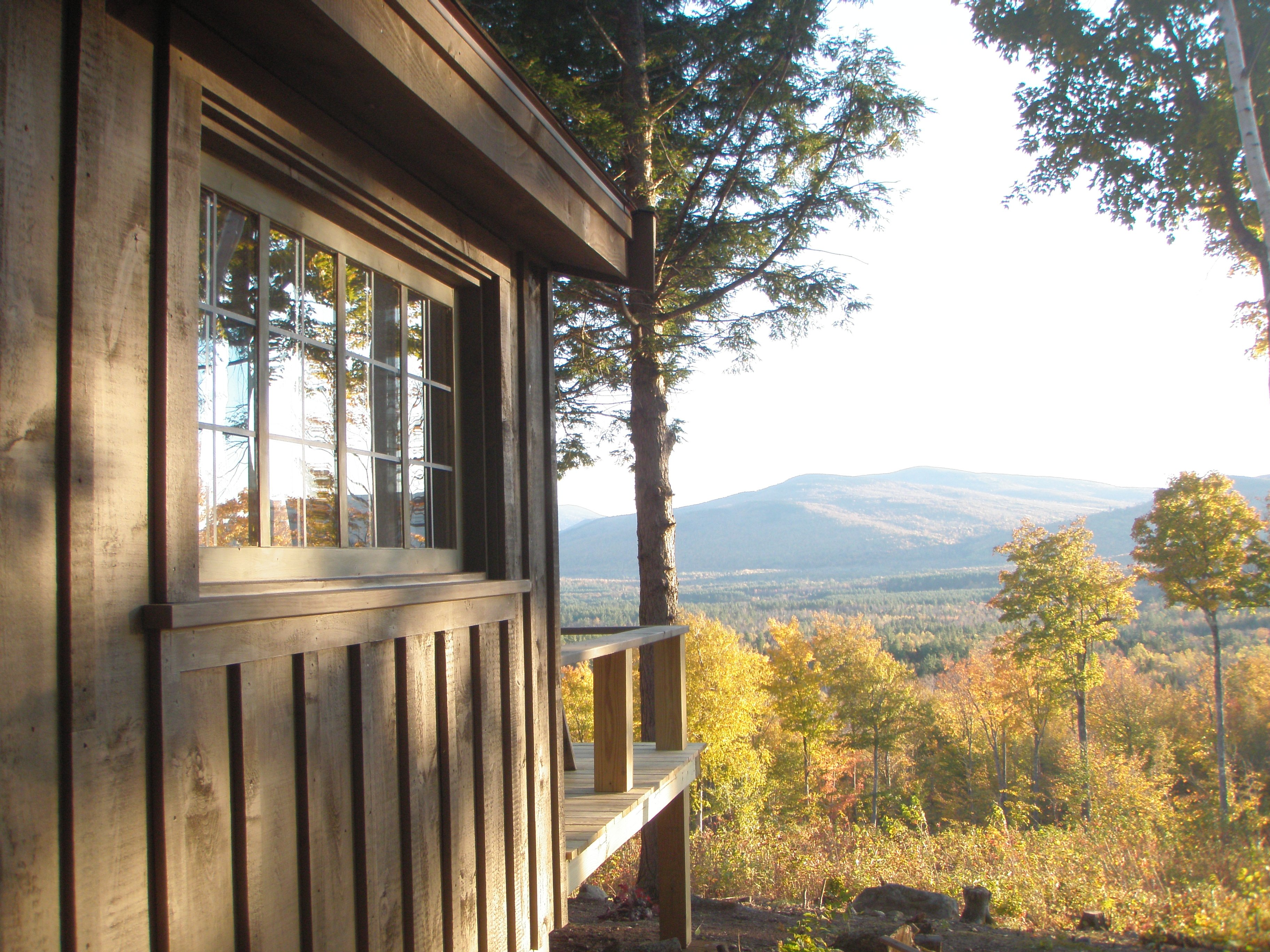 Fall at the cabin, panoramic color!