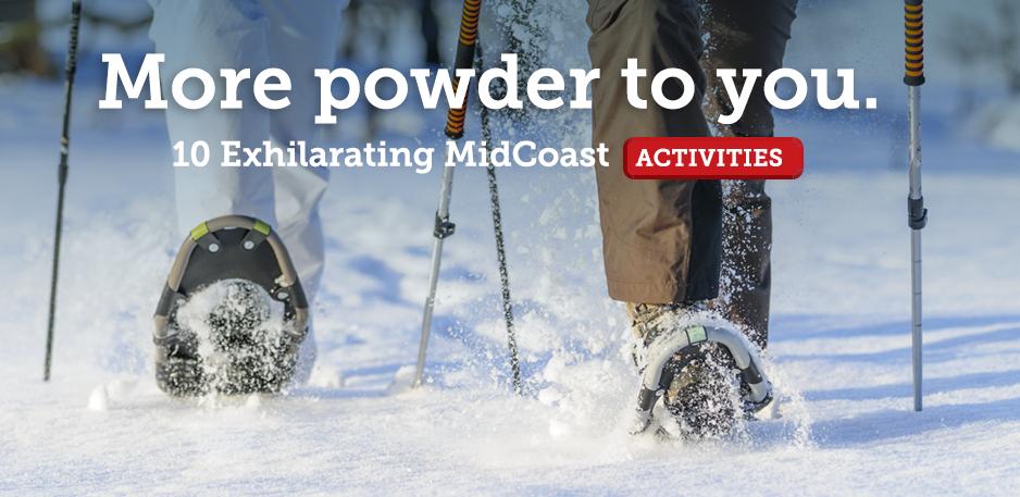Top Ten Winter Activities in MidCoast Maine