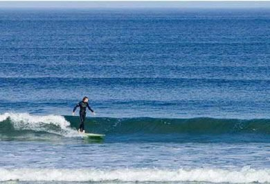 Learn to surf or paddle board in Ogunquit Maine at the Medowmere Resort