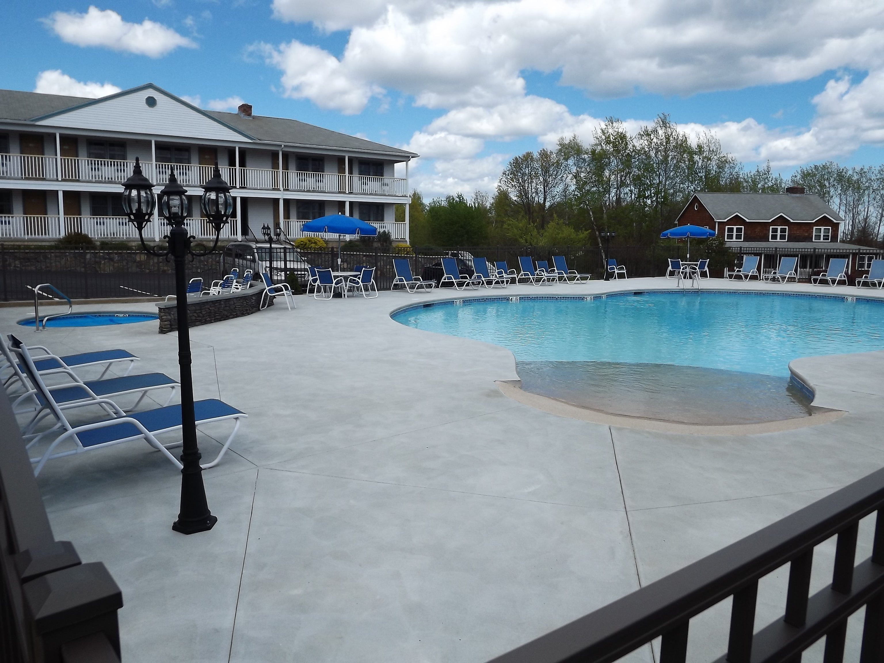 NEWLY renovated outdoor pool