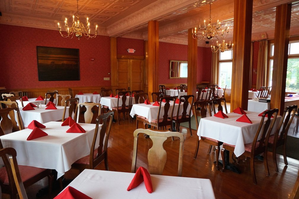 Our formal dining room is available to rent for private events.