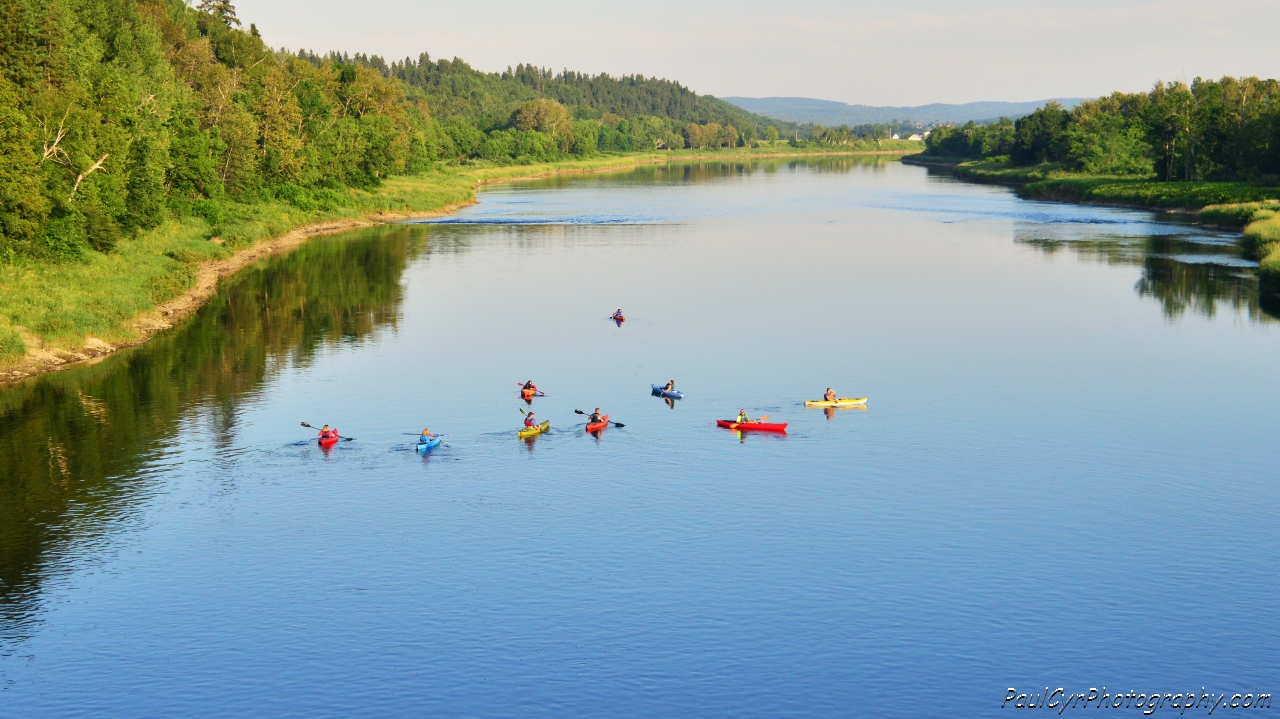 Freshwater Canoeing & Kayaking