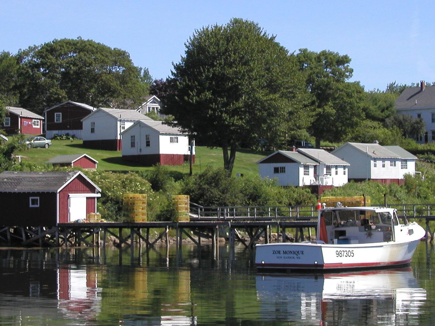 Harborside Cottages & Tom's House