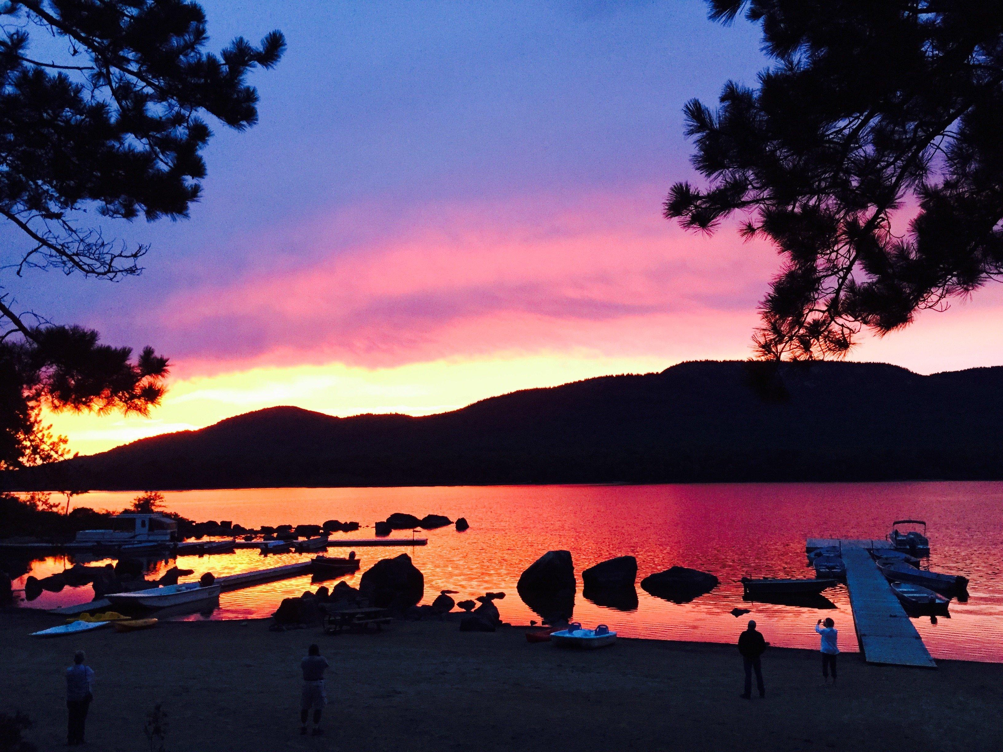 Attean Sunset