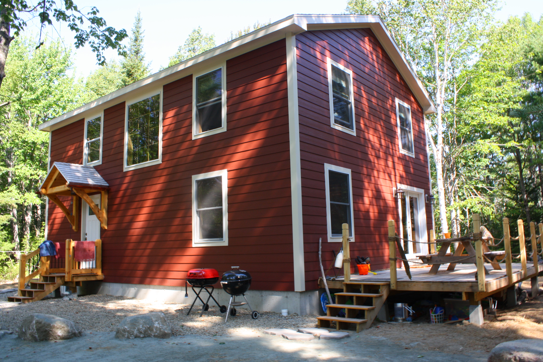 The Maine House - Beach Timber Frame