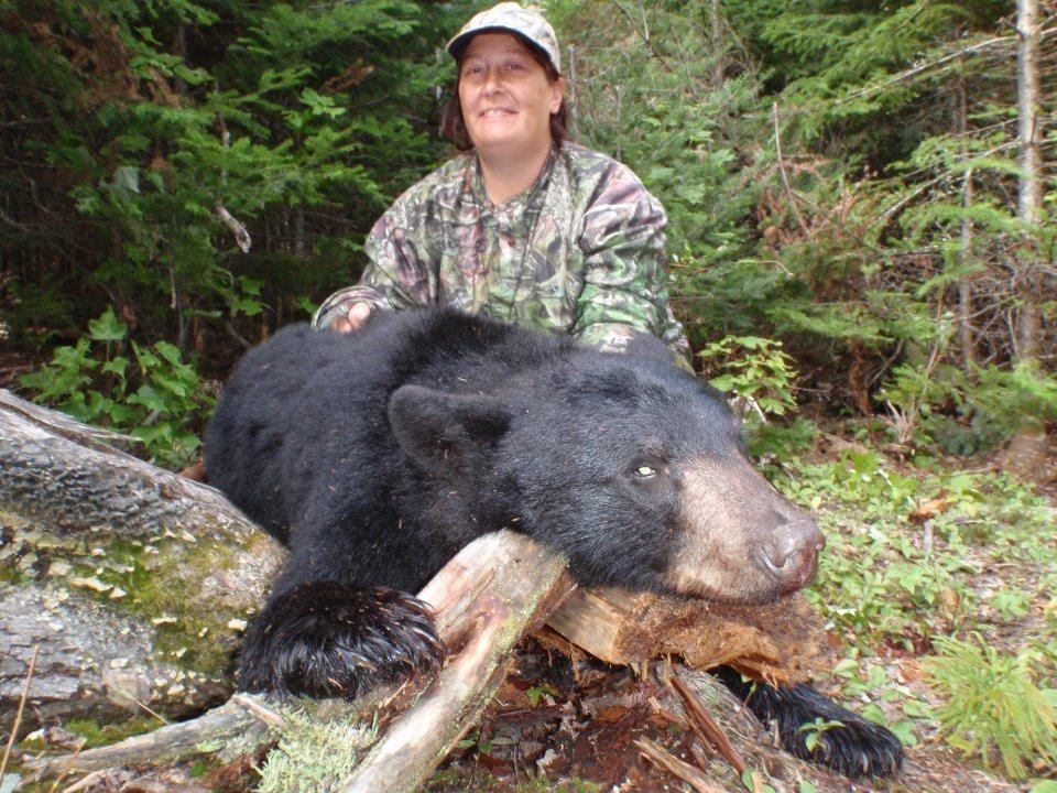 Maine Black Bear Hunting is for everyone.