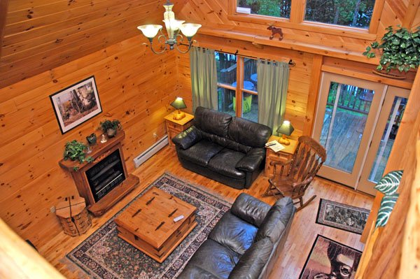 Enjoy real log cabins, well appointed for your vacation needs!