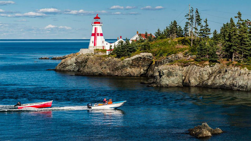 Head Harbour/East Quoddy Lighthouse