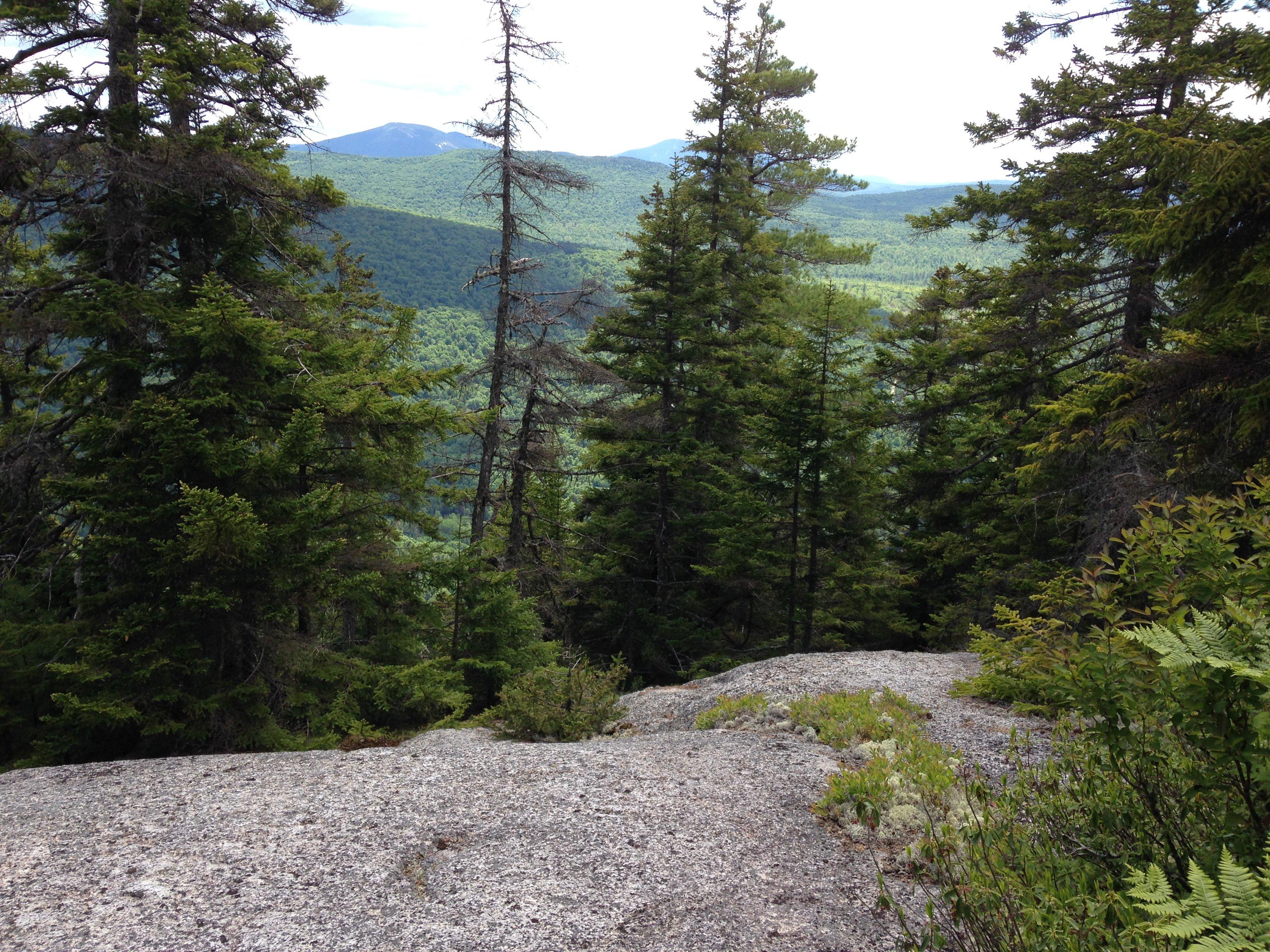 Top of C Bluff, a favorite hike