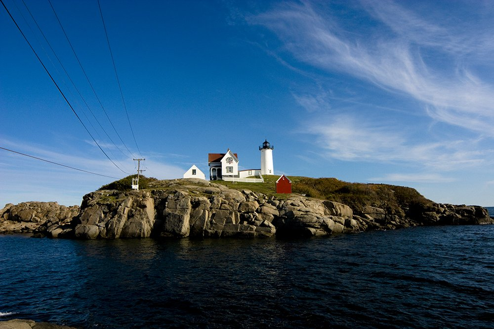 Cape Neddick, or Nubble, Light