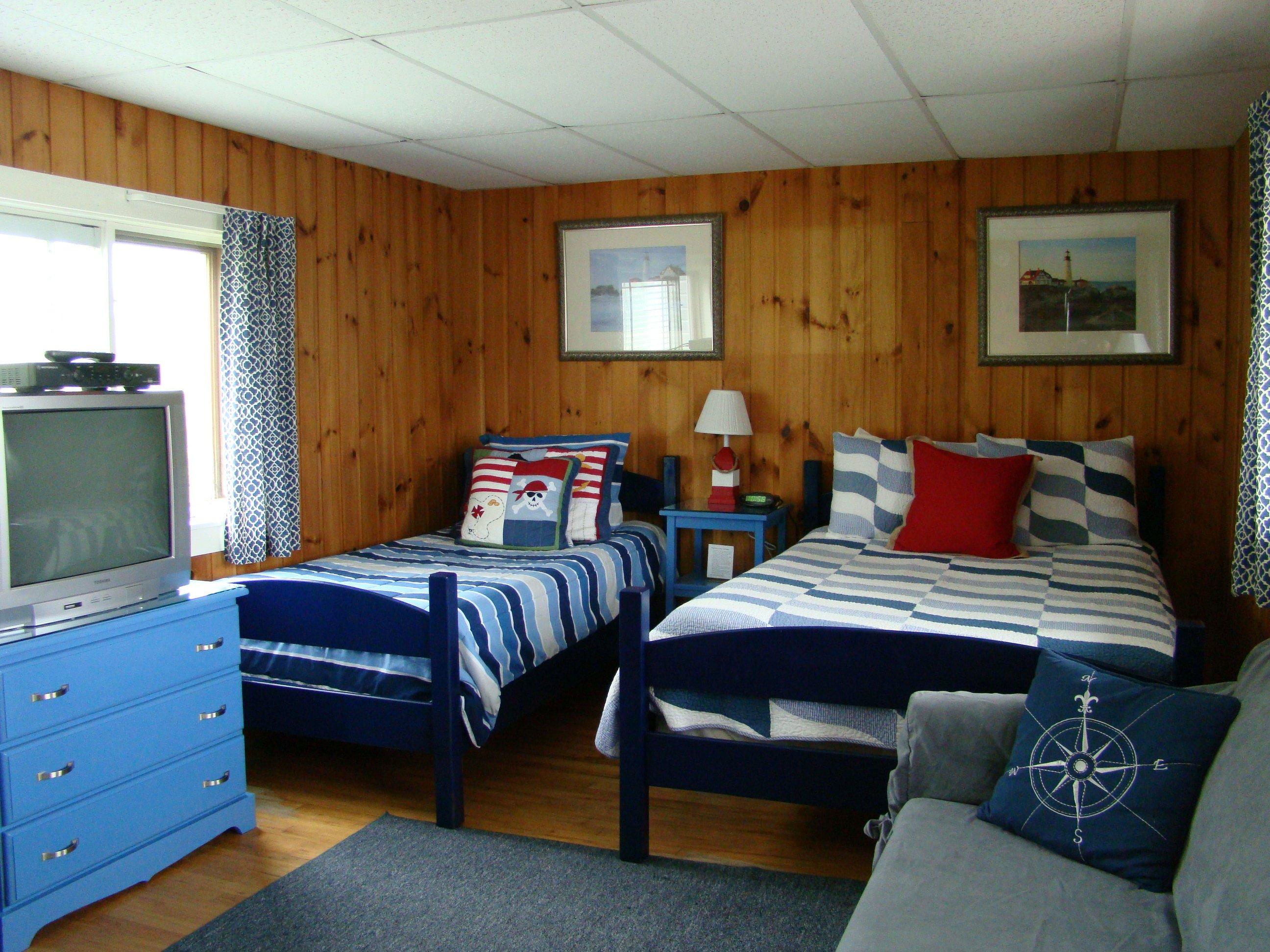 Motel room #16 - full bed, twin bed, full sleeper sofa, TV, refrigerator, microwave, coffeemaker