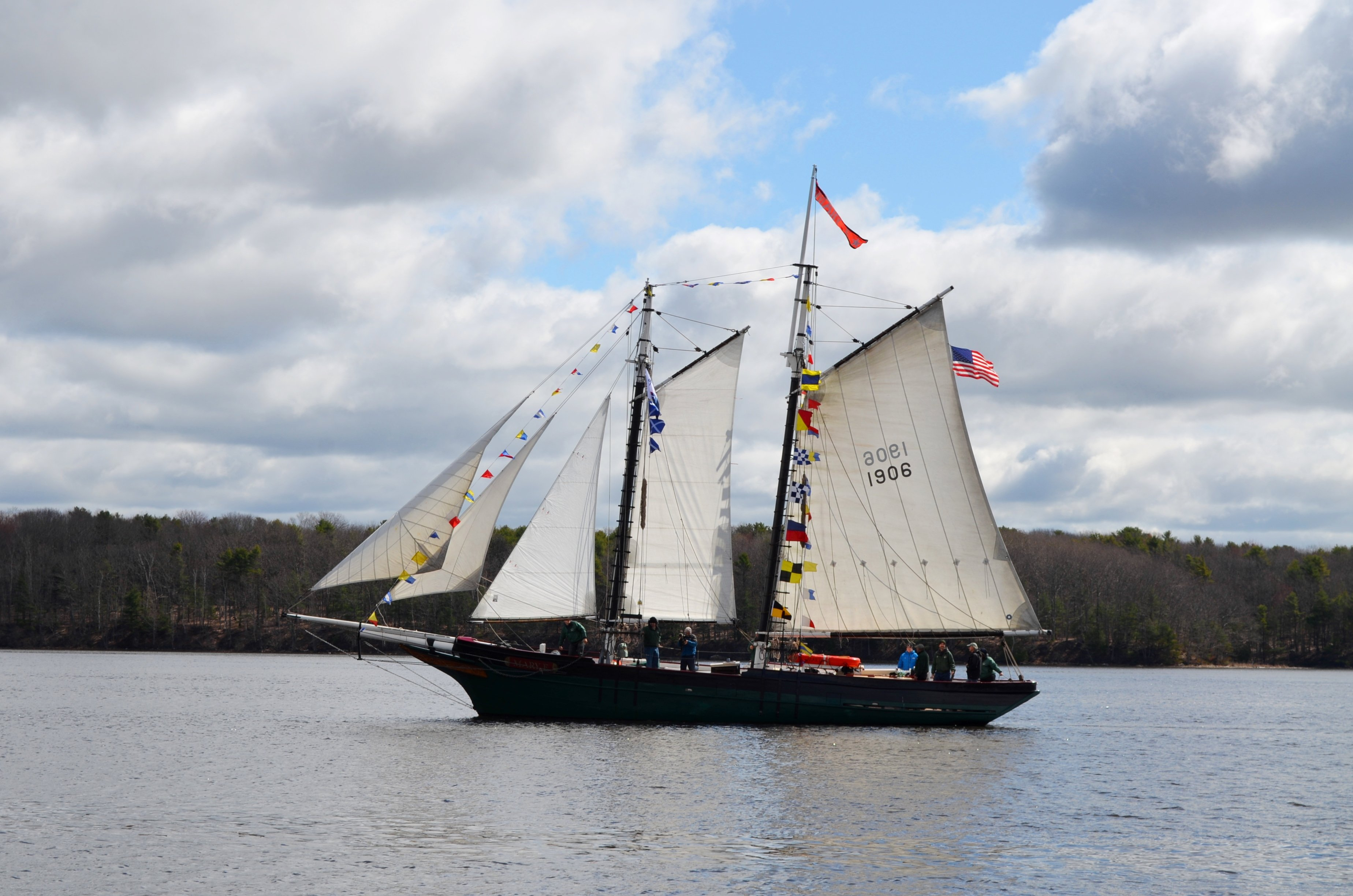 New in 2018: go aboard the historic schooner Mary E, the oldest Maine-built fishing vessel still alfloat!