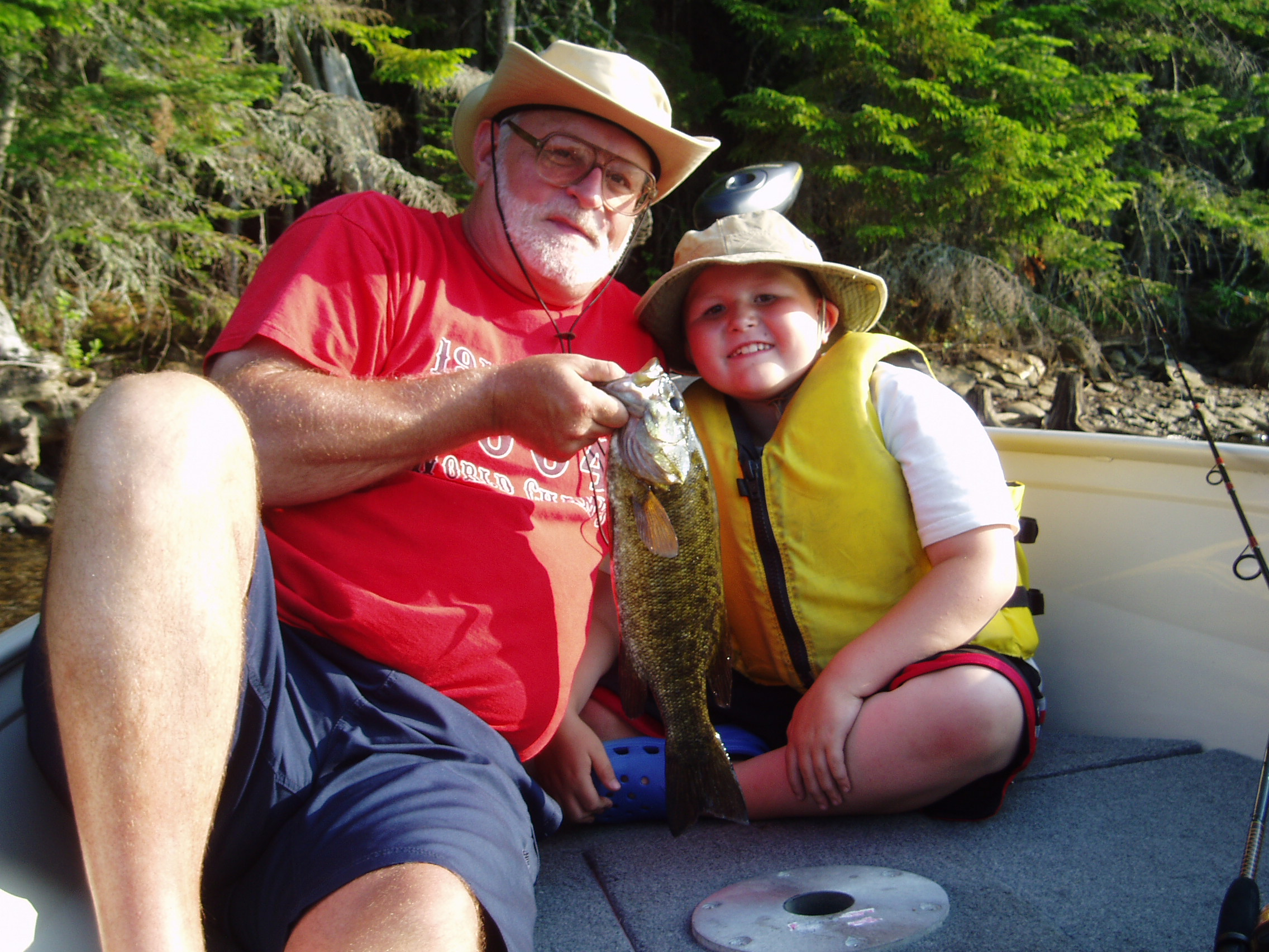 Family Friendly Fishing guided tours available daily! Salmon, Bass, and Trout.