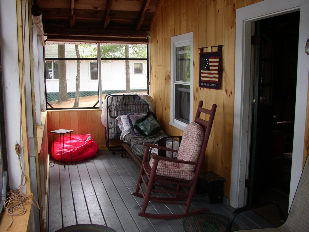 Other side of porch