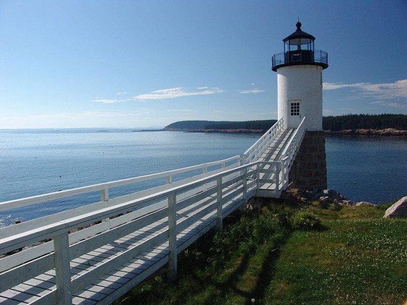 Isle au Haut Lighthouse