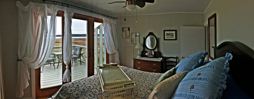Be pampered in your beautifully appointed bedroom with balcony and bay views.