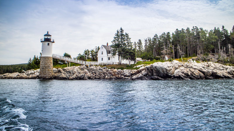 Isle au Haut or Robinson Point Light