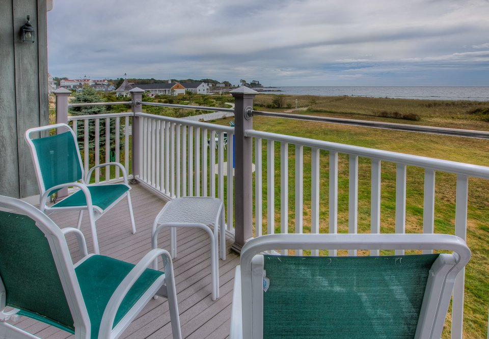 Oceanfront Views from the Balcony