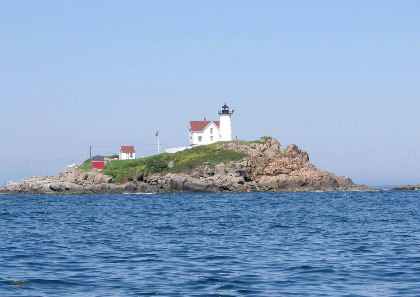 Nubble Light - York