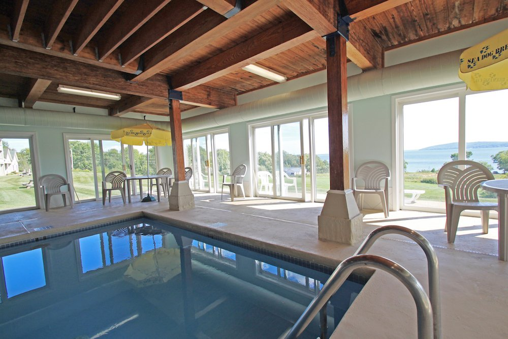 Indoor Pool with View
