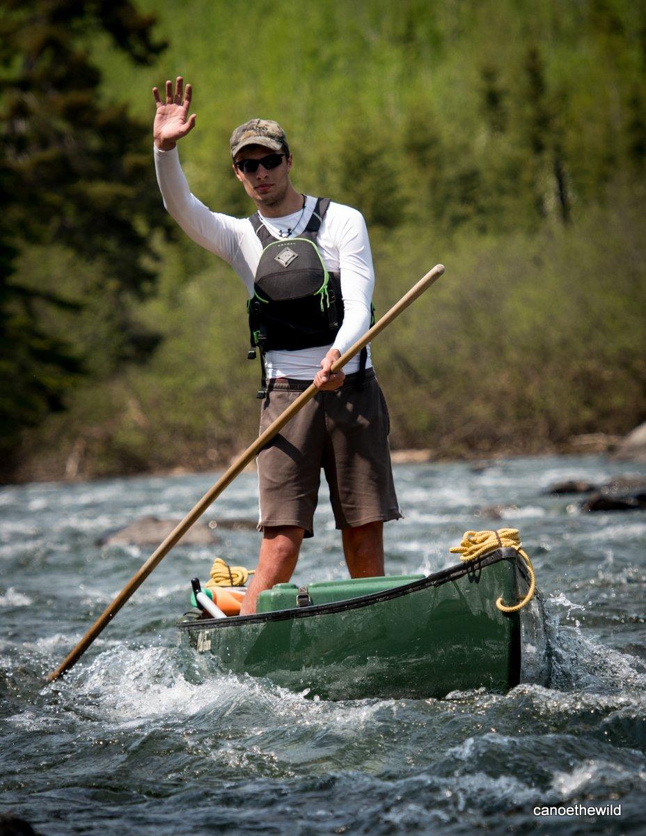 Canoe the Wild guide, Vance Gustin