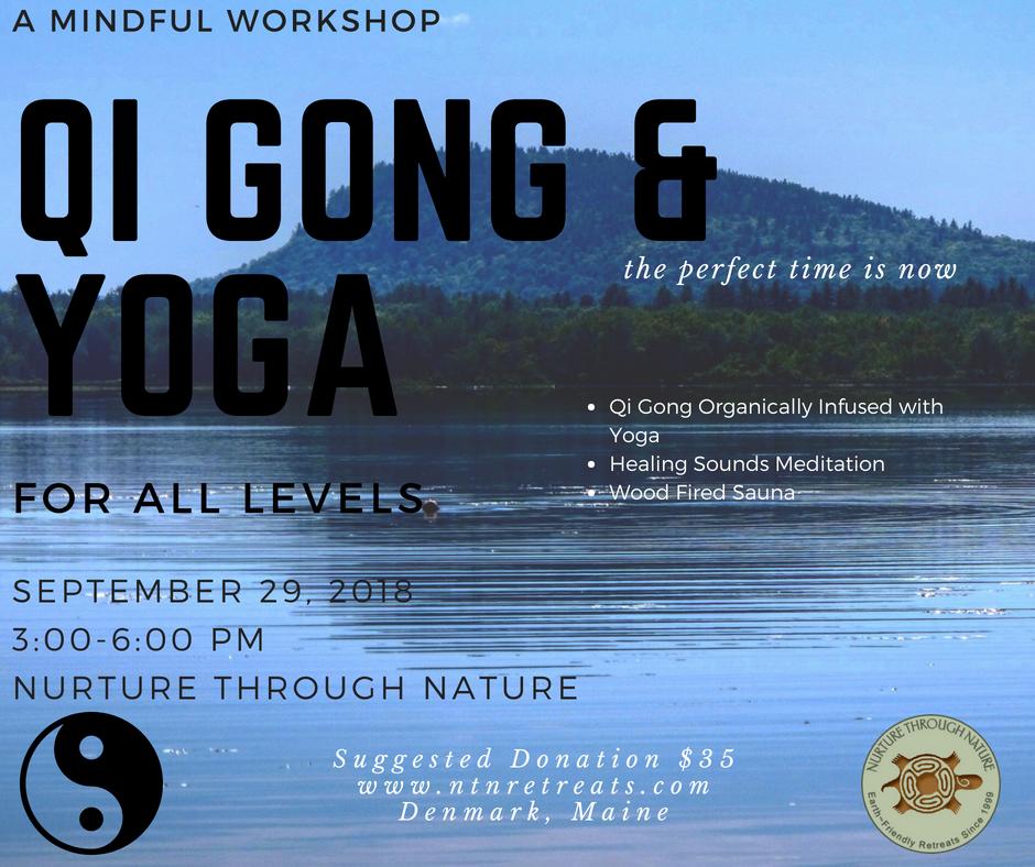 Qi Gong & Yoga Workshop