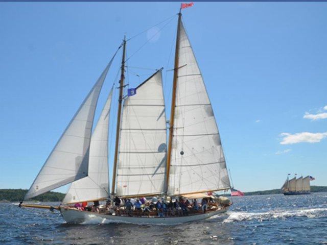 Sail Classic Schooner Heron