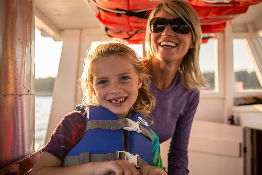 Casco Bay Custom Charters is perfect for families and small groups.
