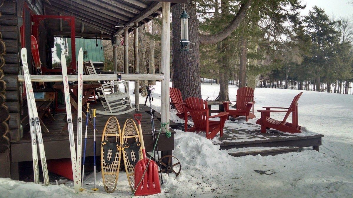 Winter fun Tomhegan Cabins