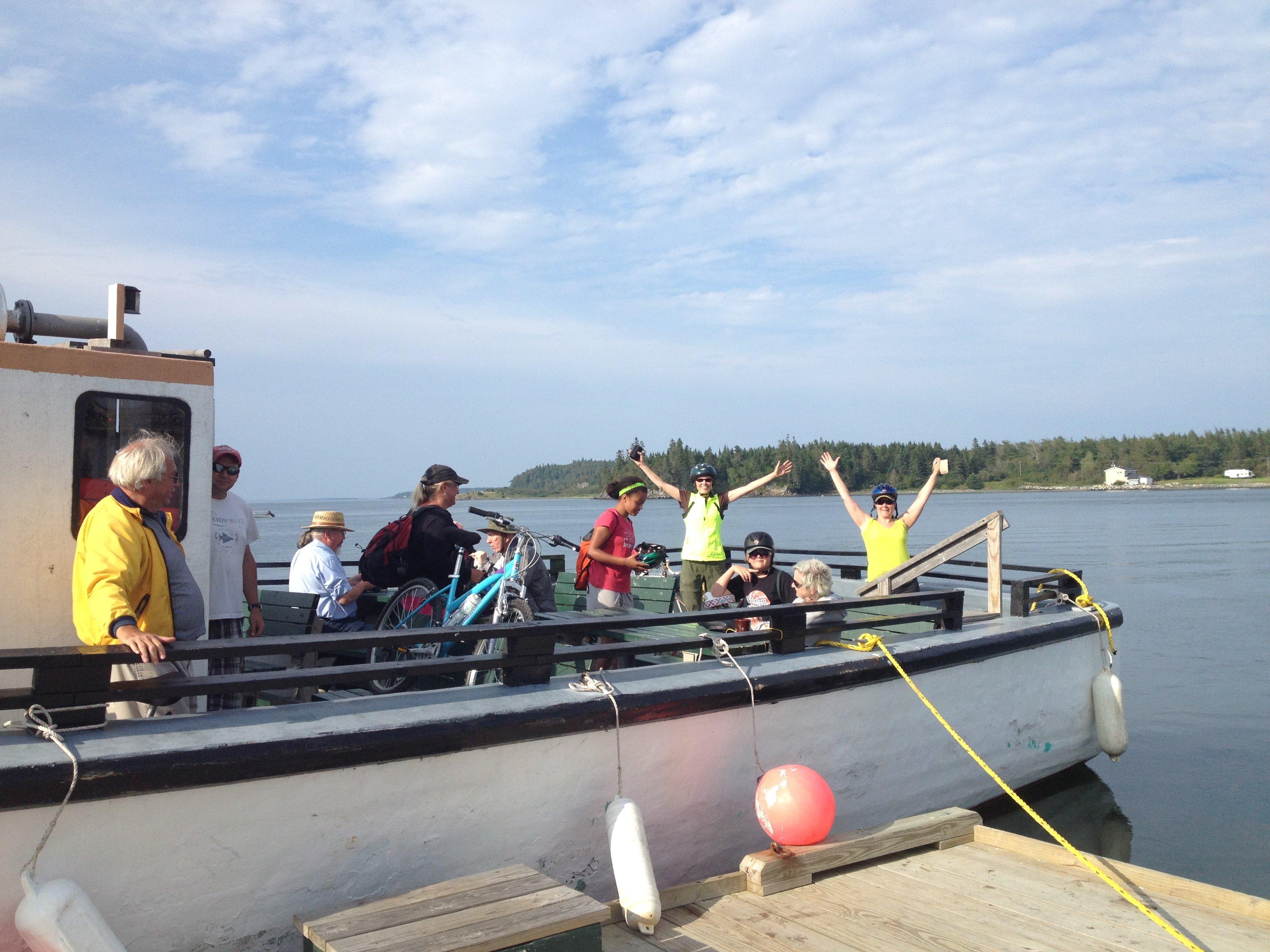 Eastport/Lubec Ferry goers!
