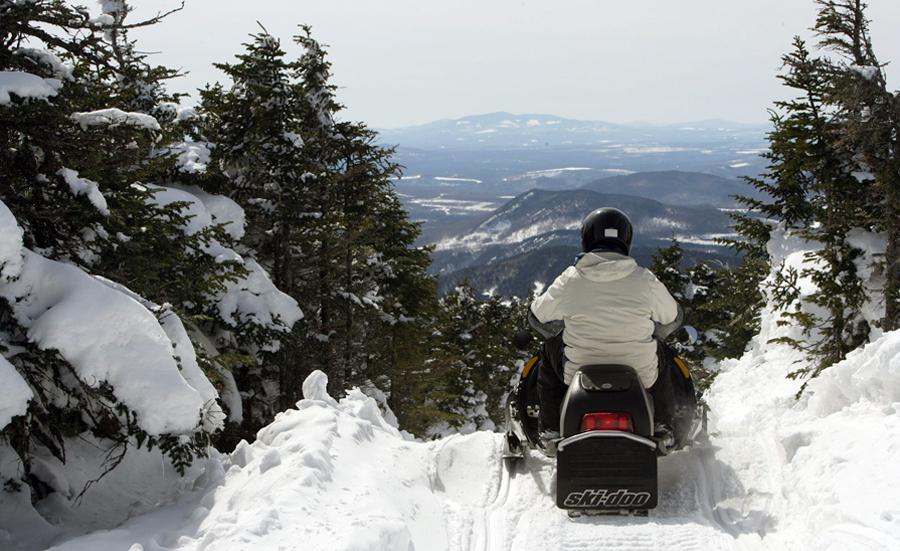 A Snowmobiler's Paradise