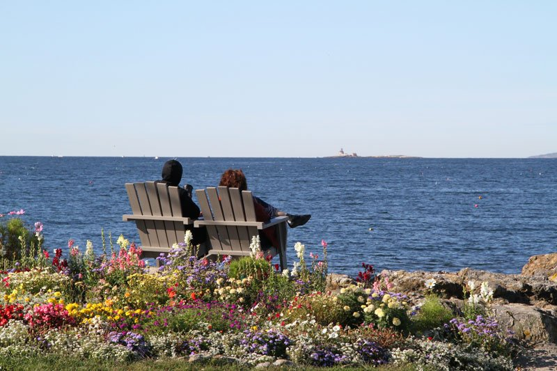 Relax and enjoy the view in our Adirondack chairs