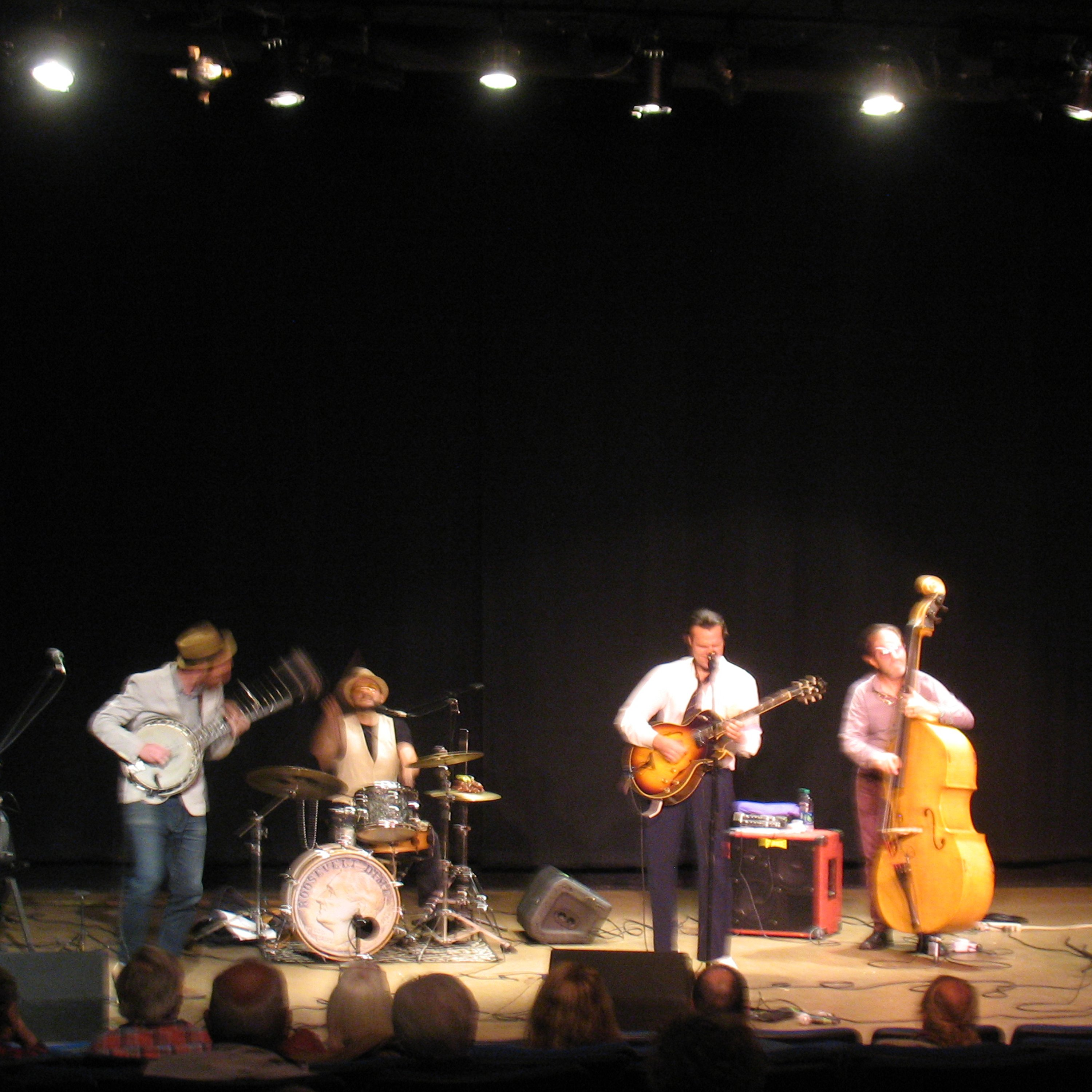 Roosevelt Dime performed at the RFA Lakeside Theater as part of The American Music Festival.