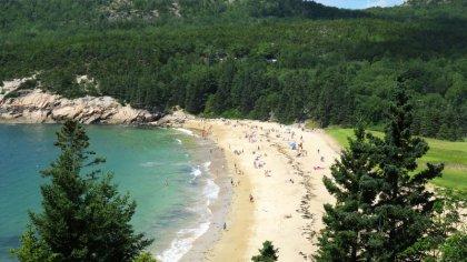 Sand Beach Downeast Acadia Regional