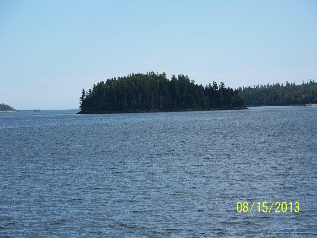 Hope Island Directly in Front of Duck Cove Cottage
