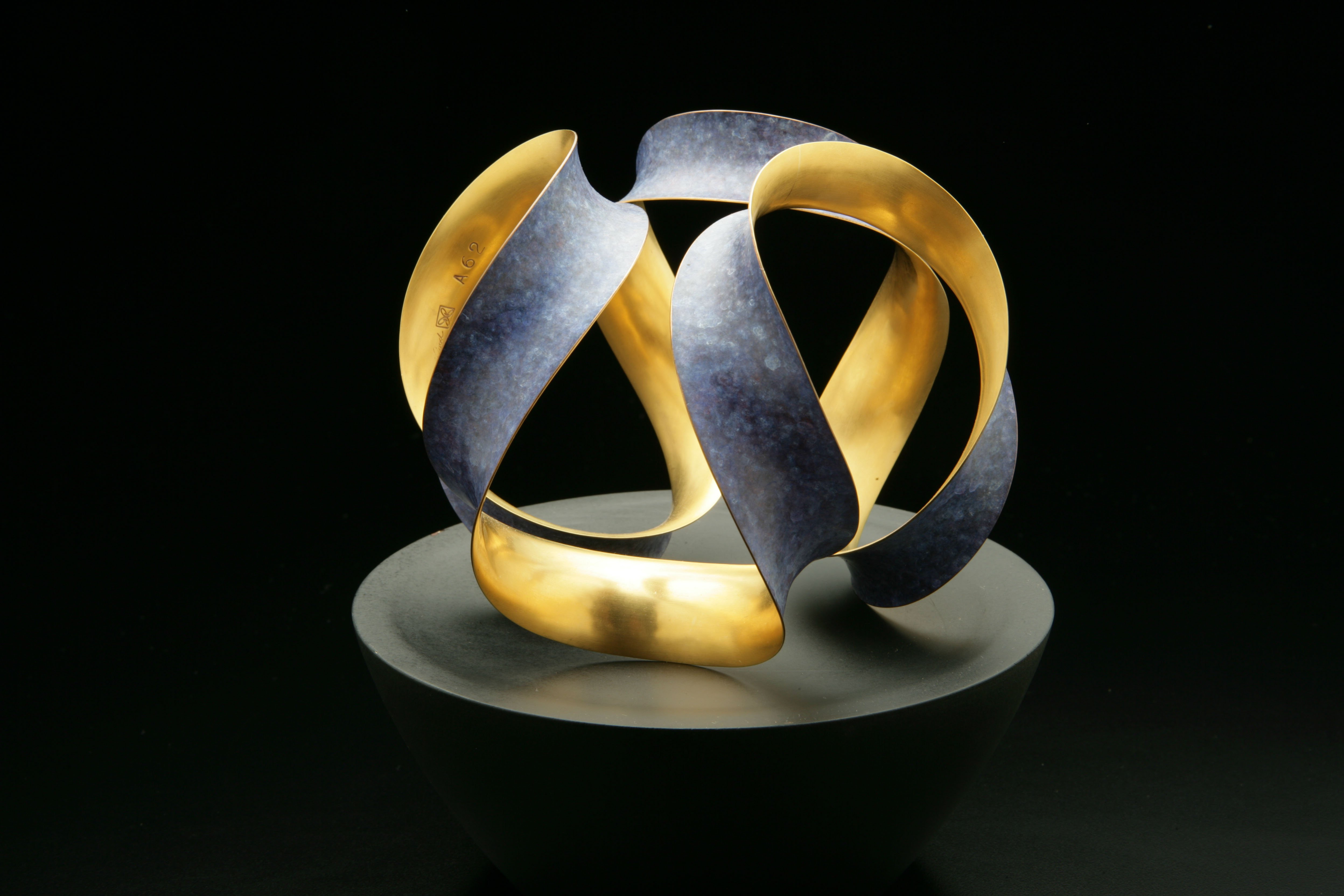 Michael Good, #A62 OBQ, bronze and 22K gold