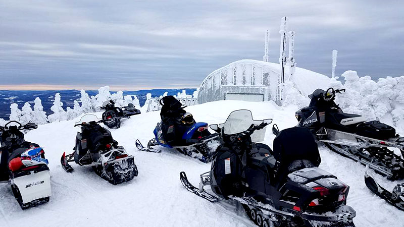 5 Snowmobile Rides to Remember