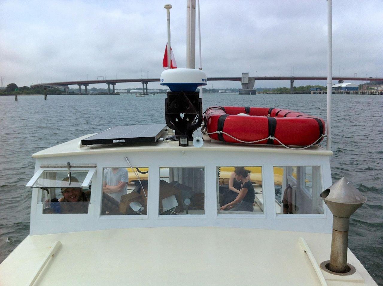 M/V MONHEGAN departing Portland Harbor