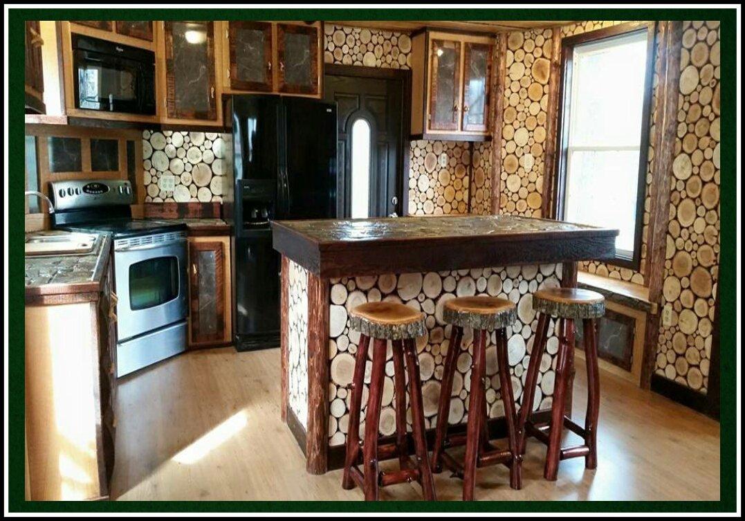 The full kitchen in the Grand Oak