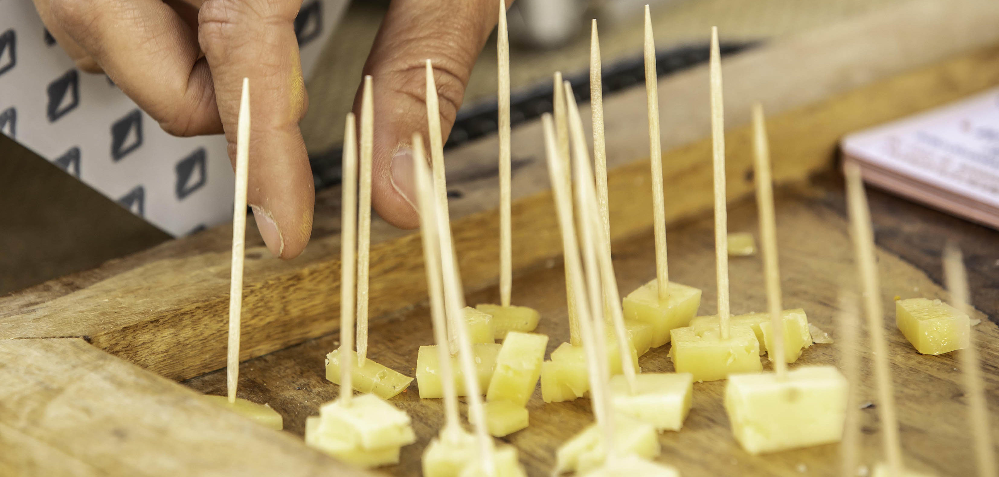 Sample local cheeses at AgriCulture in Skowhgean