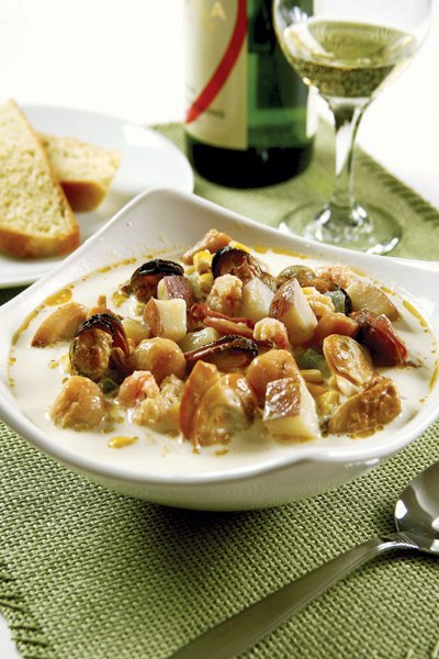 Ducktrap River Smoked Seafood Chowder