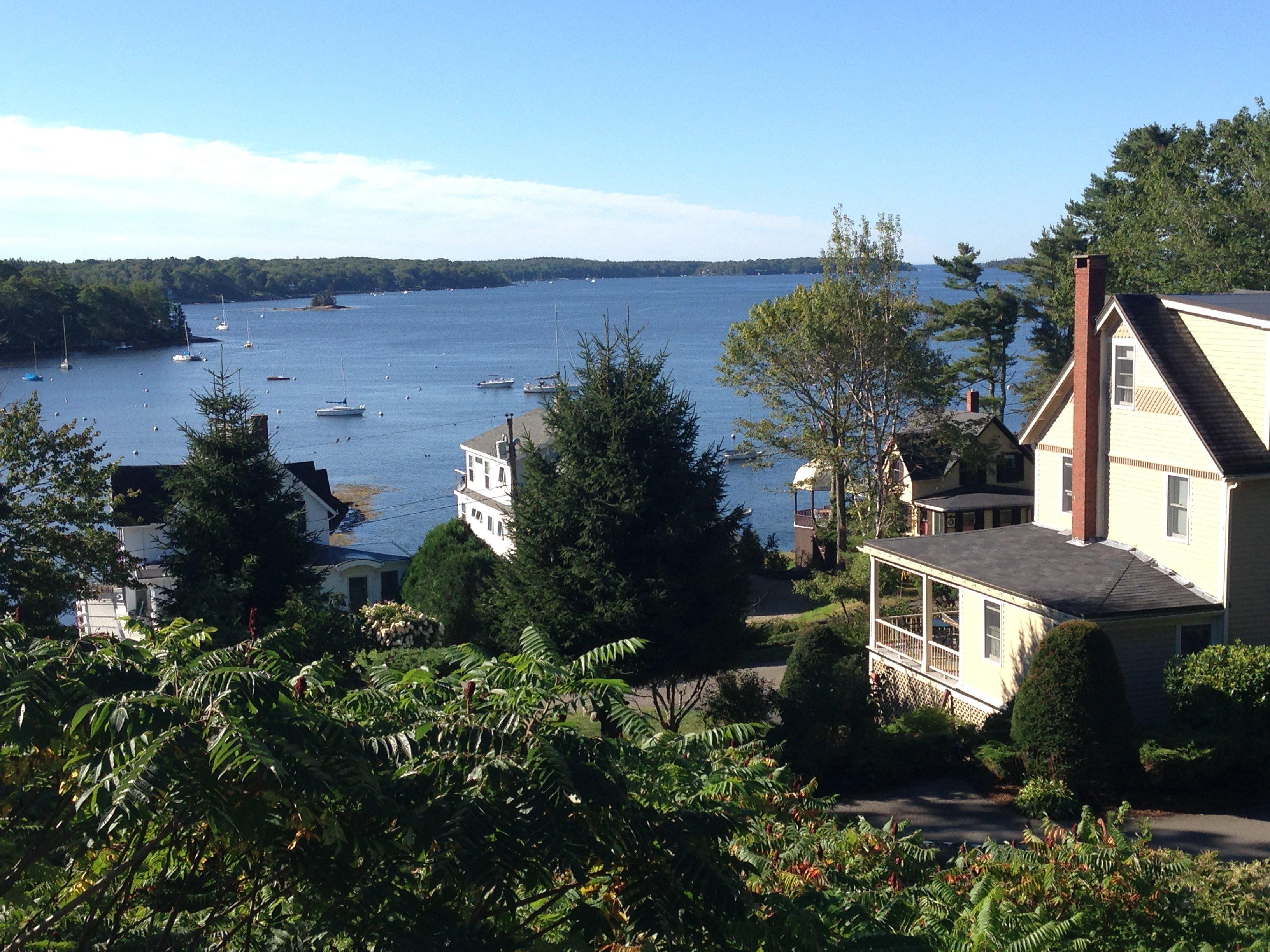 Five Gables Inn overlooking Linekin Bay