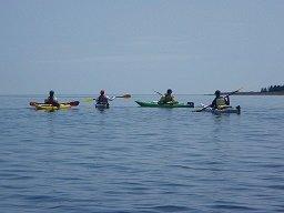 Sea Kayaking Muscongus Bay