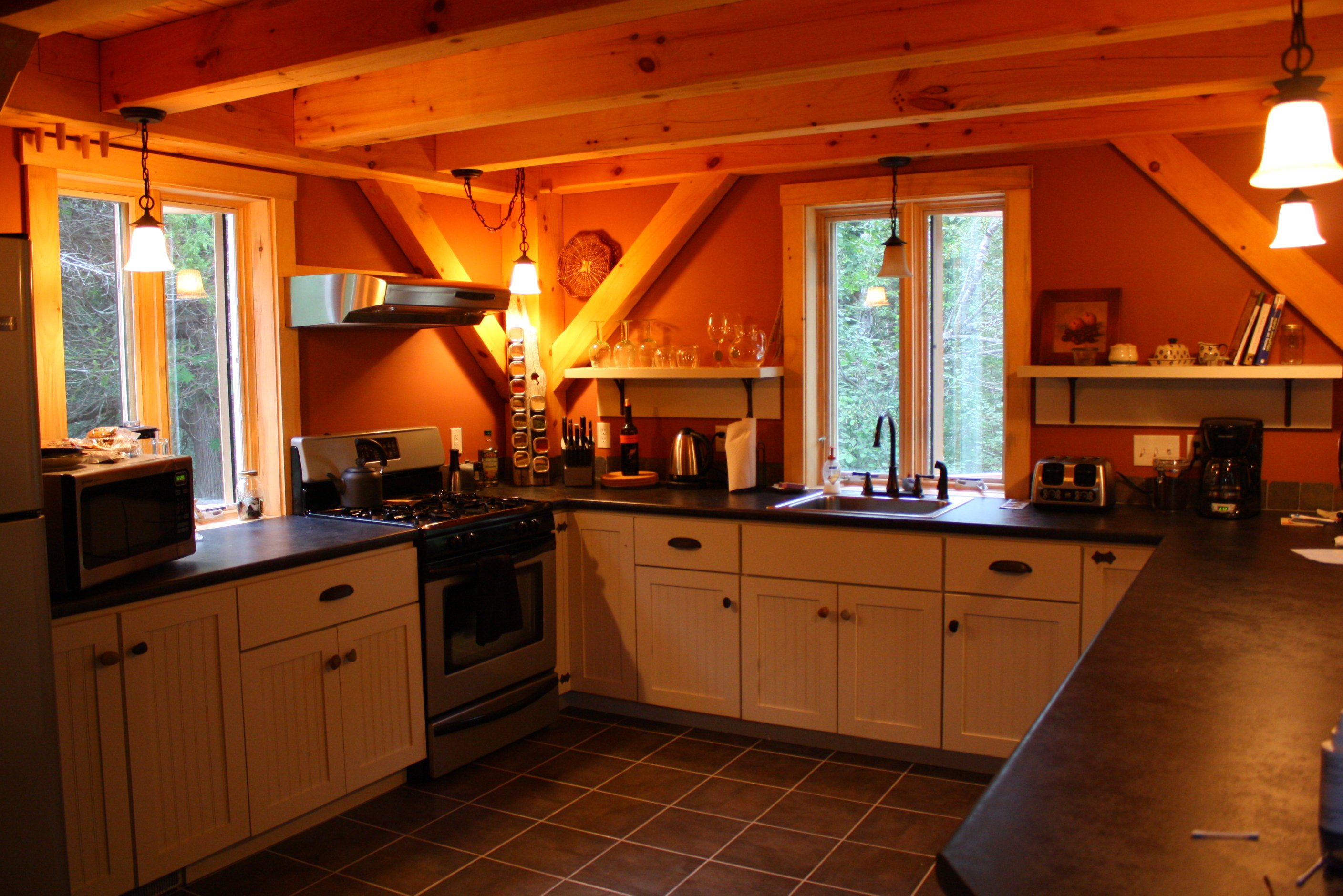 Well appointed kitchen