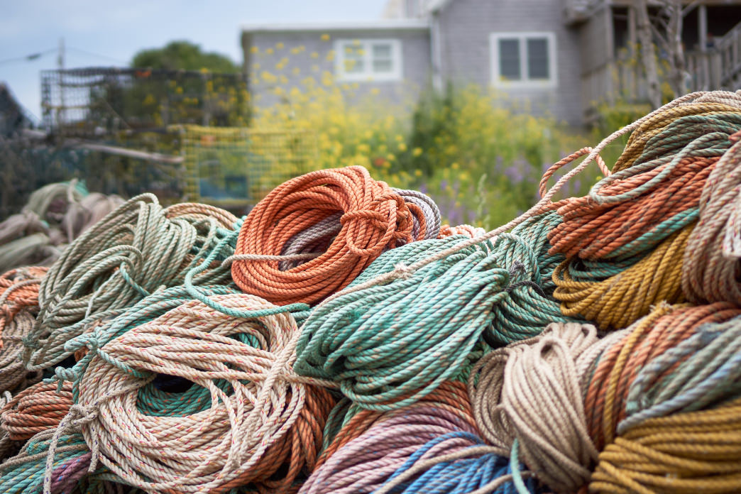 Historically, Monhegan had long been a prime fishing destination. – Albert Lew