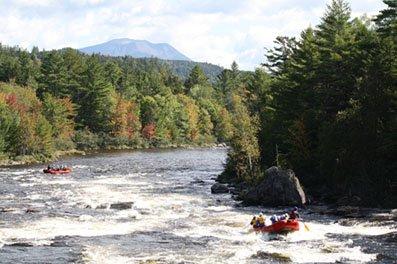 Penobscot River Maine White Water Rafting